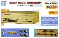 4 PORT VGA SPLITTER 200MHz